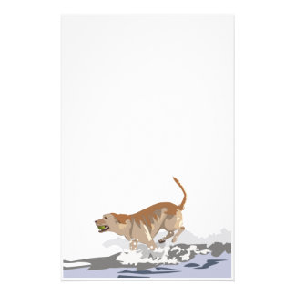 Labrador in the Ocean Stationery