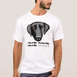 Labrador Love Bark, Bark, Bark, Woof! T-Shirt