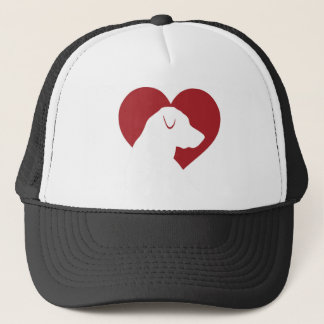 Labrador Love Hat by Silhouette My Pet