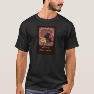 Labrador puppy Christmas Card T-Shirt