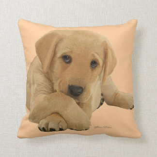 Labrador Puppy - Cushion Throw