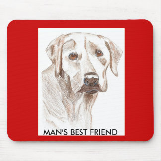 Labrador Puppy Lovers mousepad
