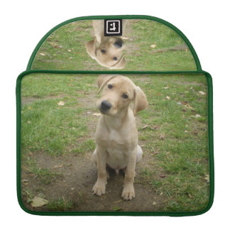 Labrador Puppy Tilts Head Sleeve For MacBook Pro