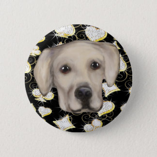 Labrador Retriever 2 Inch Round Button