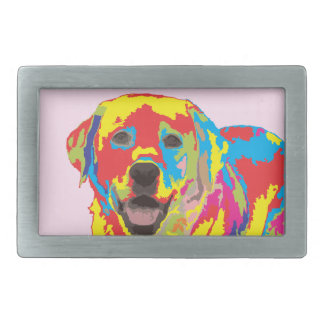 Labrador retriever belt buckle
