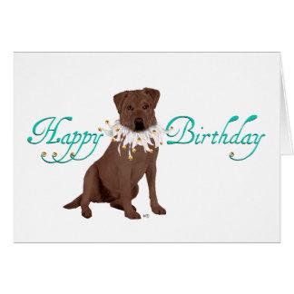 Labrador Retriever Birthday Greetings Card