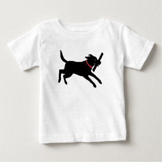 Labrador Retriever (Black) Baby T-Shirt