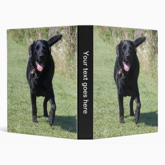Labrador Retriever black dog beautiful photo album Vinyl Binder