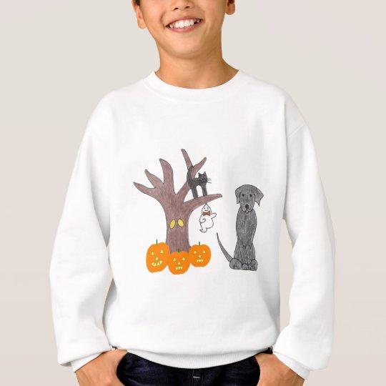 Labrador Retriever Black Fall Sweatshirt