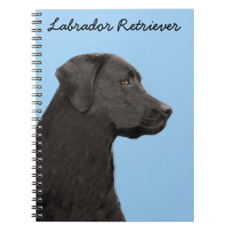 Labrador Retriever (Black) Notebook