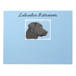 Labrador Retriever (Black) Notepad
