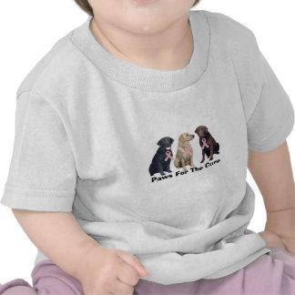 Labrador Retriever Breast Cancer Toddler Shirt