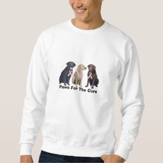 Labrador Retriever Breast Cancer Unisex Sweatshirt