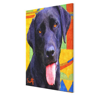 Labrador Retriever Canvas Print
