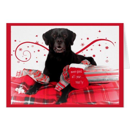 Labrador Retriever Christmas Cards