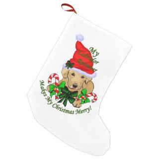 Labrador Retriever Christmas Merry Small Christmas Stocking