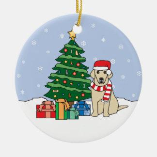 Labrador Retriever Christmas Ornament