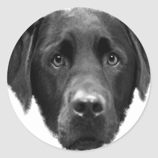 Labrador Retriever Classic Round Sticker