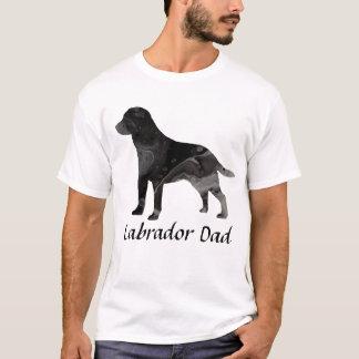 Labrador Retriever Dad Shirt Top Clothing Black