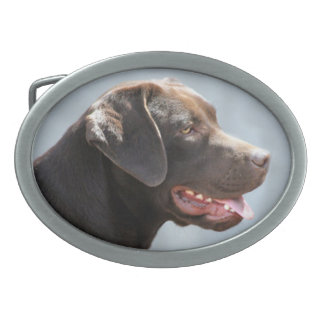 Labrador Retriever Dog Belt Buckles