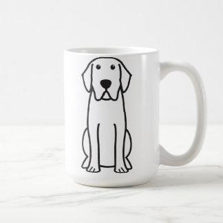 Labrador Retriever Dog Cartoon Coffee Mug