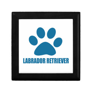 LABRADOR RETRIEVER DOG DESIGNS GIFT BOX