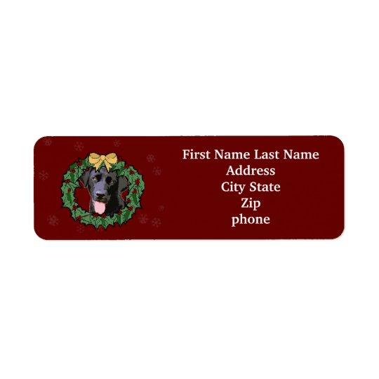 Labrador Retriever Dog: Lab Dog for Christmas