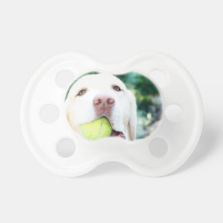 Labrador Retriever Dog Tennis Ball Pacifier