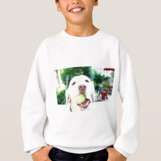 Labrador Retriever Dog Tennis Ball Sweatshirt