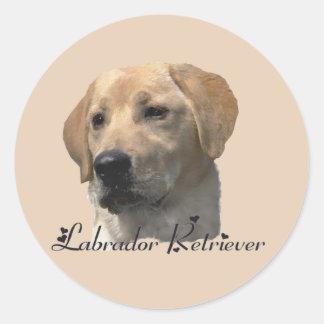 Labrador Retriever Gifts Classic Round Sticker