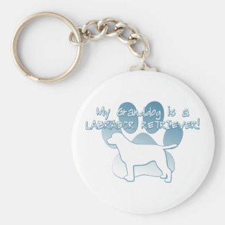 Labrador Retriever Granddog Keychain
