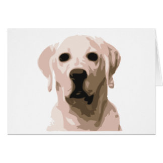 Labrador retriever hangover card