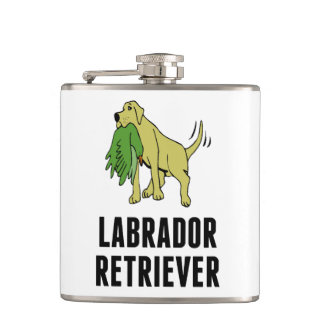 Labrador Retriever Hip Flask