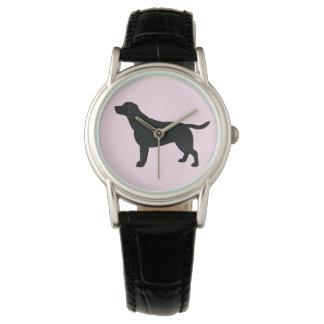 Labrador Retriever in Silhouette Watch