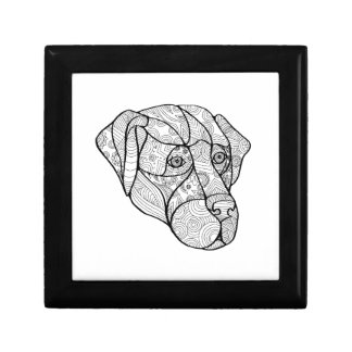 Labrador Retriever Mandala Gift Box