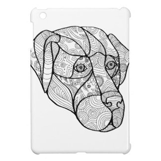Labrador Retriever Mandala iPad Mini Covers