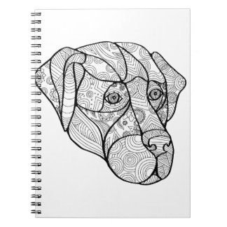 Labrador Retriever Mandala Notebook