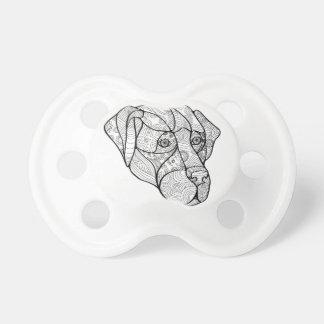 Labrador Retriever Mandala Pacifier