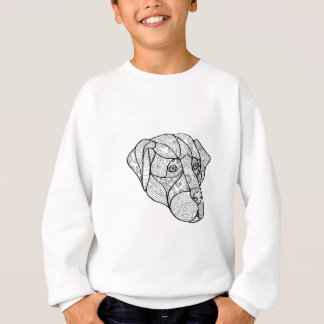 Labrador Retriever Mandala Sweatshirt