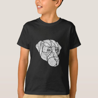 Labrador Retriever Mandala T-Shirt