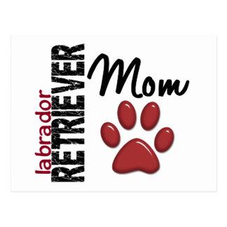 Labrador Retriever Mom 2 Postcard