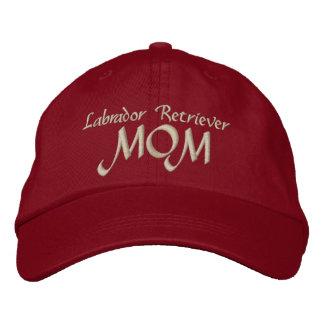 Labrador Retriever, MOM Embroidered Hat