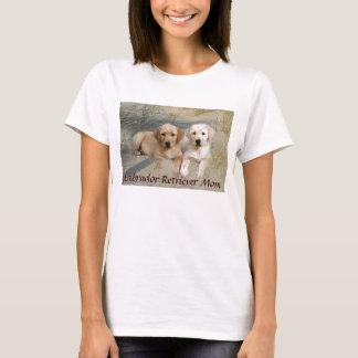 Labrador Retriever Mom T-Shirt Puppies