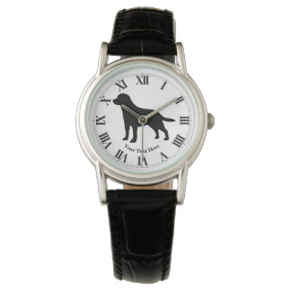 Labrador Retriever Personalize Watch