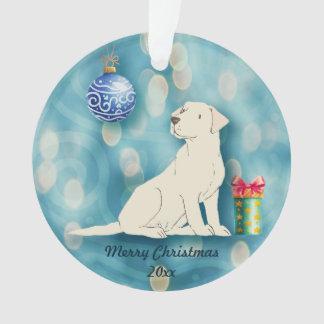 Labrador Retriever Pet Dog Christmas Ornament