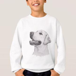 Labrador Retriever profile Portrait Drawing Sweatshirt