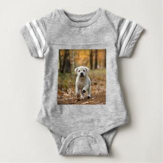 Labrador retriever puppy baby bodysuit