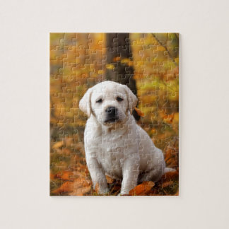 Labrador retriever puppy jigsaw puzzle