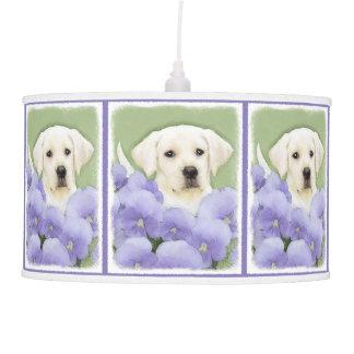 Labrador Retriever Puppy Pendant Lamp