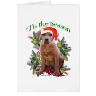 Labrador Retriever Puppy 'Tis the Season  Card